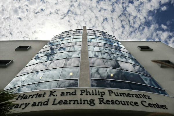 The Harriet K. and Philip Pumerantz Library
