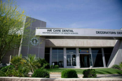 We Care Dental facility in Rancho Mirage