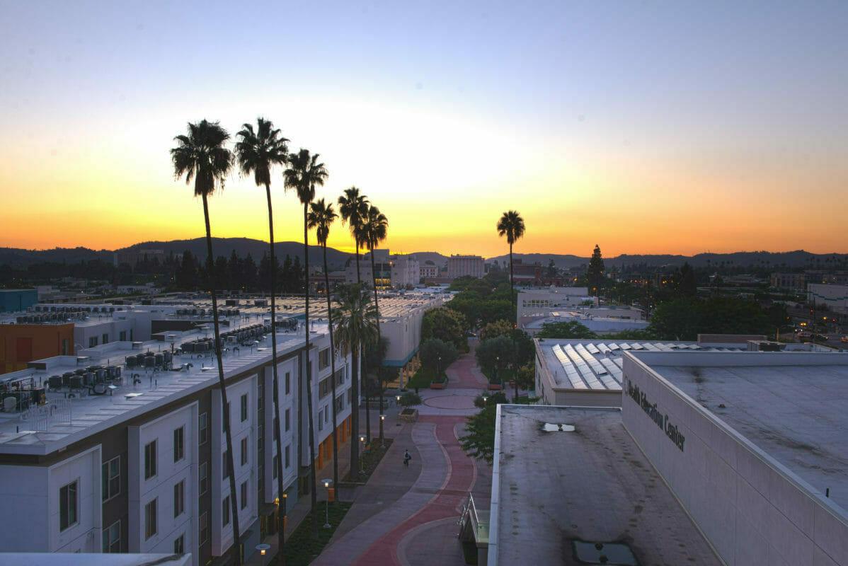 Sunset at WesternU