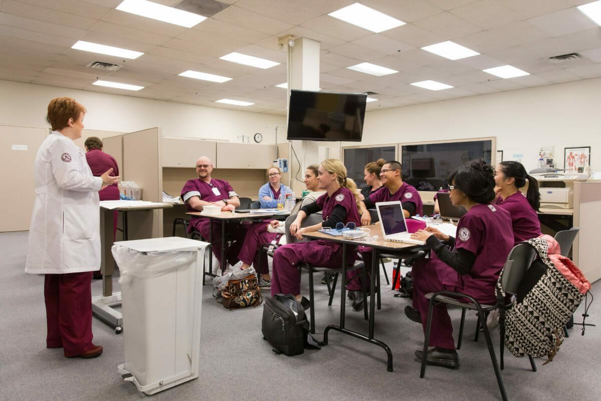 Nursing Skills Lab in Class